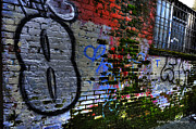 Wesley Allen Photography Photos - Alley Art 4 by Wesley Allen Shaw