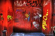 Wesley Allen Photography Photos - Alley Art 8 by Wesley Allen Shaw