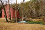 Grist Mill Prints - Alley Mill Print by Reva Dow