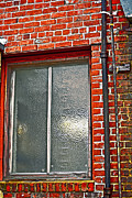 Ally Framed Prints - Alley Window Framed Print by Bill Owen