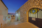 Star Of David Photos - Alleyway Between Buildings by Noam Armonn