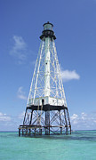 Alligator Reef Lighthouse Print by Kevin Brant