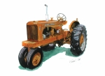 Tractor Originals - Allis Chalmers Tractor by Ferrel Cordle
