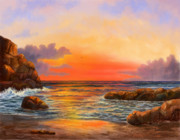 Beach Scenes Digital Art - Alluring Seas by Sena Wilson