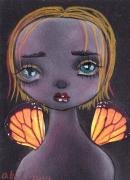 Gothic Angel Prints - Alma Print by  Abril Andrade Griffith
