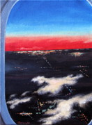 Plane Paintings - Almost Home by Shirley Galbrecht