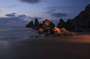 Euskadi Prints - Almost night in Laga beach Print by Fernando Alvarez