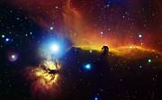 Alnitak Region In Orion Flame Nebula Print by Filipe Alves