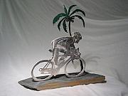 Bicycle Sculpture Posters - Aloha  Poster by Steve Mudge