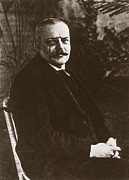 Germans Metal Prints - Alois Alzheimer 1864-1915, German Metal Print by Everett