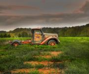 Old Chevrolet Truck Posters - Alone Again Naturally Poster by Thomas Young