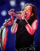 Rock Music Painting Originals - Alone I Break by Al  Molina