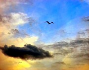 Dale Ford Prints - Alone in a Big Sky Print by Dale   Ford