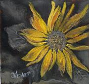 Flower Pastels - Alone in the Night by Cathy Weaver