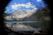 Convict Lake Art - Alone on Convict Lake by Wayne Knight