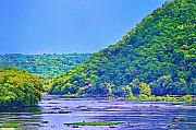 Harpers Ferry Prints - Along the Potomac in West Virginia Print by Bill Cannon