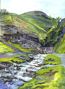 Yorkshire Drawings - Along The Way by Carol Wisniewski