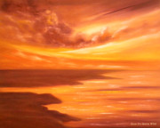 Beach Sunsets Originals - Along the Way by Gina De Gorna