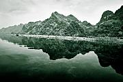 Vietnam Prints - Along the Yen River Print by David Bowman