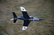 Alpha Framed Prints - Alpha Jet Of The Royal Air Force Low Framed Print by Andrew Chittock