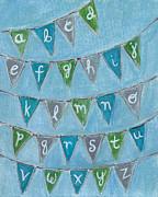 Kristen Fagan - Alphabet Bunting III