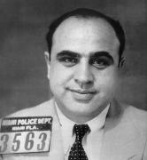Mug Shot Prints - Alphonse Capone (1899-1947) Print by Granger