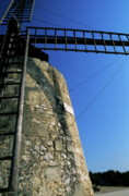 Architectural Feature Photos - Alphonse Daudet Windmill in Provence by Sami Sarkis