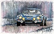 Featured Art - Alpine A 110 by Yuriy  Shevchuk