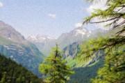 Alpine Altitude Print by Jeff Kolker