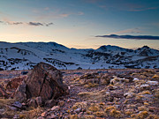 Pauls Colorado Photography Prints - Alpine Evening Print by Paul Gana