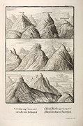 Noah Framed Prints - Alpine Geology Flood Evidence Scheuchzer. Framed Print by Paul D Stewart