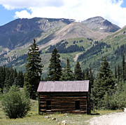 Rusted Tin Roof Photos - Alpine Rustic Cinnamon Pass  by Kara Kincade