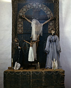 Crucifix Art Posters - Altar In The Church, Trampas, New Poster by Everett
