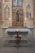 Croce Prints - Alter in the Basilica of Santa Croce Print by Rob Tilley