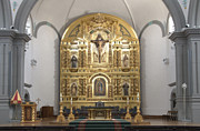 Tourist Industry Photos - Alter San Juan Capistrano by Bob Christopher