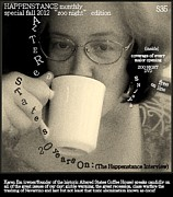 Magazine Cover Digital Art - ALTERED STATES COFFEE 20 years on  final tweek by Jack Dillhunt