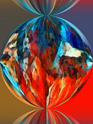 World Of Thought Metal Prints - Alternate Realities 1 Metal Print by Angelina Vick