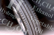 Tyre Metal Prints - Alternative Fuels Metal Print by Crown Copyrighthealth & Safety Laboratory