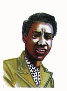 Althea Gibson Print by Emmanuel Baliyanga