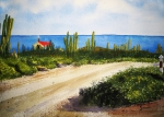 Caribbean Painting Originals - Alto Vista Chapel by Shirley Braithwaite Hunt