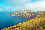 Summer Squall Framed Prints - Alum Bay - Isle of Wight Framed Print by Michael Stretton