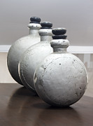 Antiquated Prints - Alumina Bottle Soldiers Print by Kantilal Patel