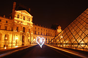 Paris At Night Framed Prints - Always in my heart Framed Print by Ivy Ho