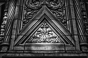 Alwyn Court Building Detail 13 Print by Val Black Russian Tourchin
