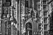 Black Russian Studio Framed Prints - Alwyn Court Building Detail 26 Framed Print by Val Black Russian Tourchin