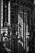 Black Russian Prints - Alwyn Court Building Detail 36 Print by Val Black Russian Tourchin
