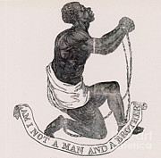 Anti-slavery Posters - Am I Not A Man And A Brother Poster by Photo Researchers