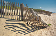 Fence Row Photos - Amagansett Beach Fence by Joseph O. Holmes / portfolio.streetnine.com