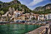 Italy Photo Prints - Amalfi Print by David Smith