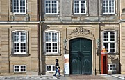 Changing Of The Guard Framed Prints - Amalienborg Palace Framed Print by Steven Richman